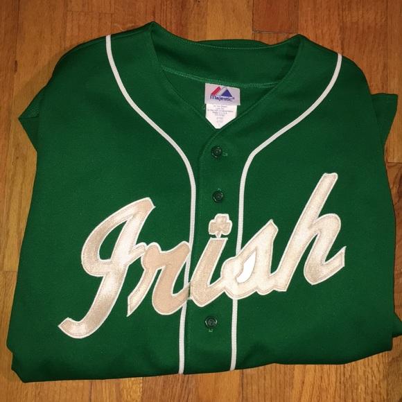 watch dabf6 413c6 ⚾️ Vintage Notre Dame Baseball Jersey